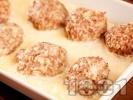 Снимка на рецепта Свински кюфтета с ориз в бял сос